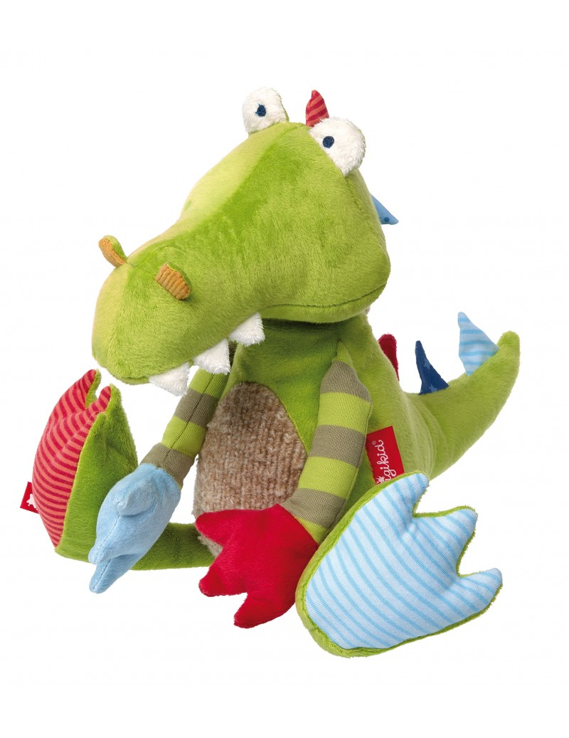 Peluche dragon Patchwork Sweety Sigikid -